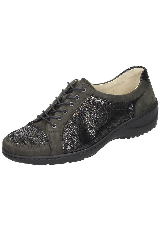 Waldl@ufer womens lace-up shoe black