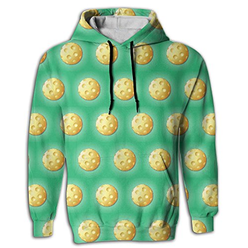 Virgo Pickleball Sport Men's Novelty First Quality Long Sleeve Hoodie Oversized For Hipster ()
