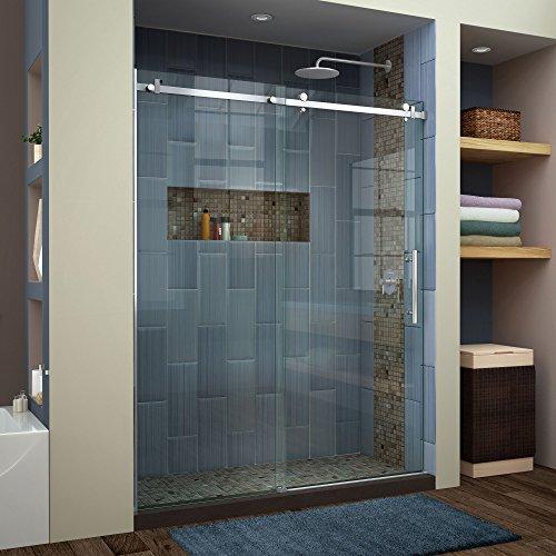 frameless shower door 60 - 4