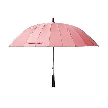 74daba359a84 Amazon.com : Fenleo 24 Ribs Support Extra Large Solid Color Umbrella ...