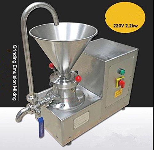 Colloid Mill Machine for Peanut/Sesame Butter Chocolate/Ice Cream Emulsifier 4.1L 80~150mesh