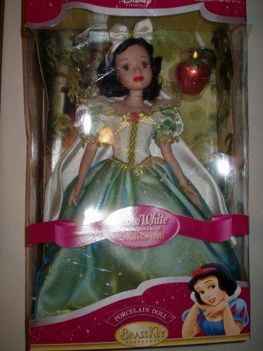 Snow White Keepsake Porcelain Doll (Brass Key Keepsake) LARGE by Disney - Keepsake Porcelain Doll