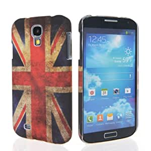 GETLAST Pretty UK England Flag Pattern Plastic Hard Back Case Cover + Screen Protector For Samsung Galaxy S4 I9500