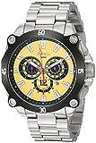 Roberto Bianci Men's RB71011 Casual Enzo Analog Yellow Dial Watch