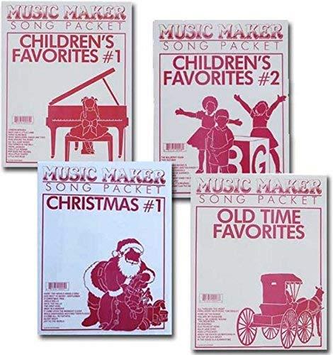 Songsheets for Lap Harp, Music for Music Maker, Zither: 48 songs - Children