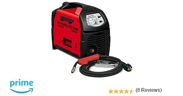 Telwin TE-816052 Equipo de soldadura de hilo, 2 W, 230 V, Rojo y negro