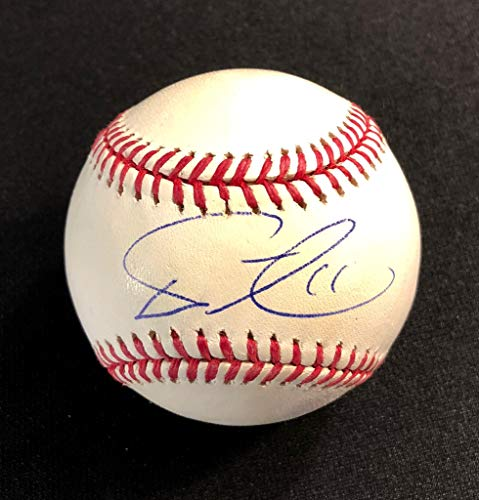 YU DARVISH AUTOGRAPHED Hand SIGNED O.M.L. BASEBALL W/COA & CUBE TEXAS RANGERS DODGERS CHICAGO - Chicago Cubs Cube Baseball