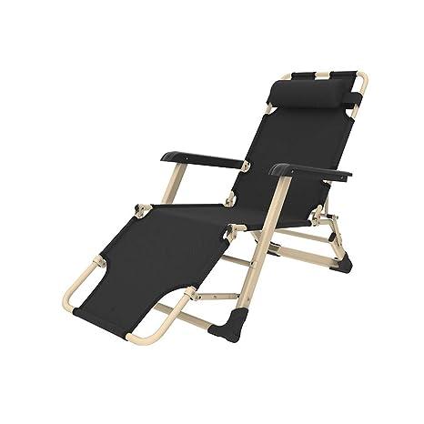 Amazon.com: YQQ Silla de playa plegable silla de dormir ...