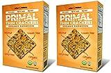 Cheap Primal Thin Crackers (Organic) (2 Pack) (Low Carb, Gluten-Free, Grain-Free) (Organic Parmesan)