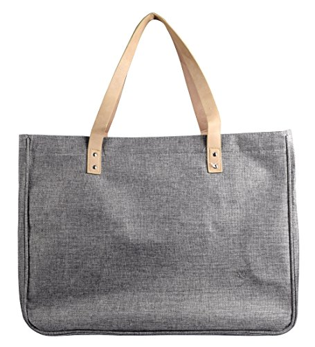 Jeans Handbags Hobos Large Travel Tote Bags Shoulder Bags (Denim Grey) ()