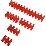 3mm スリーブケーブルガイド スリーブガイド 赤 5点セット CZLX-SGR 5S (赤)