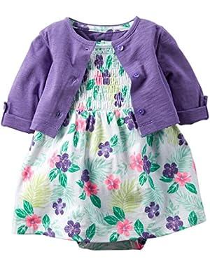 Dress Sets, Floral, 3 Months