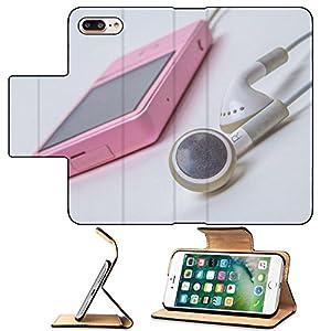 Luxlady Premium Apple iPhone 7 Plus Flip Pu Leather Wallet Case iPhone7 Plus 31282820 Vintage of brown sofa and untidy desk