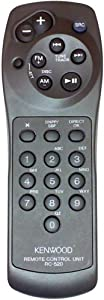 Kenwood RC-520 Infrared Remote Control for Car Audio CD Radio MP3 Player