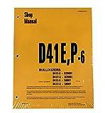 Komatsu D41E-6, D41P-6 Series Bulldozer Workshop Repair Service Manual - Part Number # SEBD007007