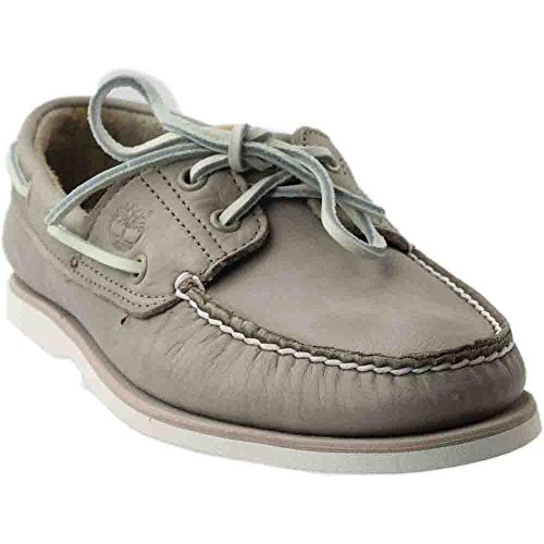 Timberland Mens Tidelands Venetian Boat Loafer, Light Taupe/Pure Cashmere, Size 9 (Timberland 2 Eye)