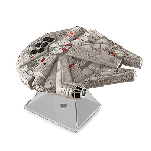 092298925394 - Star Wars Bluetooth Speaker - The Force Awakens Han Solo's Millennium Falcon Lights Up When In Use carousel main 0