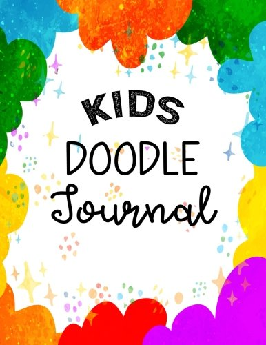 Kids Doodle Journal: Graph Paper Notebook, 8.5 x 11, 120 Grid Lined Pages (1/4 Inch Squares)