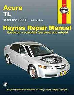 amazon com haynes acura tl 1999 thru 2008 repair manual 12050 rh amazon com 82 Accord Rear Windshield Covers 89 Accord