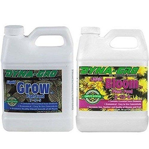 - Dyna-Gro DYNAGB8OZSET Liquid Grow & Liquid Bloom, 8 oz