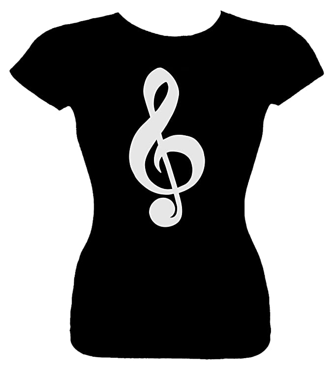 Amazon Juniors Funny T Shirt Cleft Note Music Note Symbol