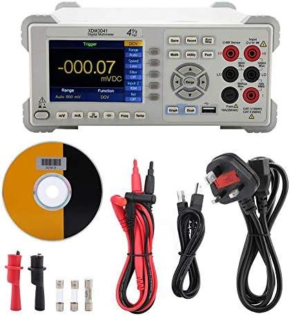 Tyannan デジタルマルチメータ、XDM3041 4 1/2桁デュアルディスプレイのUSB / RS232 /電気メンテナンステストキット用AC/DC(UK)のためのLANデスクトップマルチメータ
