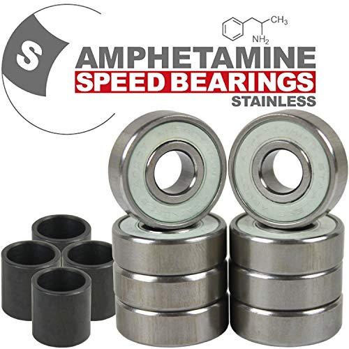 Amphetamine Stainless Steel Skateboard Bearings by Amphetamine