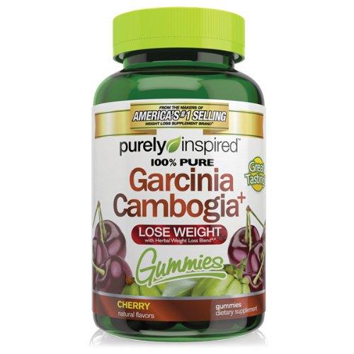 Чисто Inspired гарцинии камбоджийской + Gummies, вишня, 50 граф