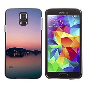 Caucho caso de Shell duro de la cubierta de accesorios de protección BY RAYDREAMMM - Samsung Galaxy S5 SM-G900 - Sunset Beautiful Nature 81