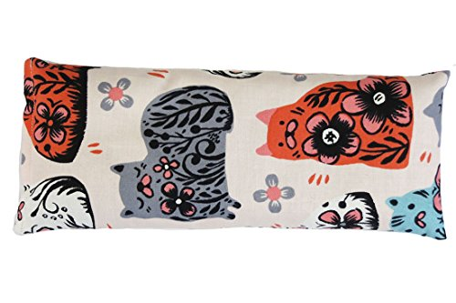 Dreams Print Sweet (Sweet Dreams Boxed Cooling Eye Pillow Cat Print Made in USA)