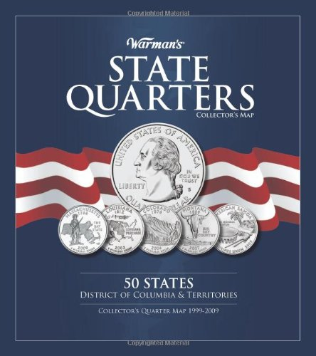 Warman's State Quarter Collector's Map -