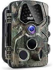 """Victure Wildkamera Fotofalle 12MP 1080P Full HD Jagdkamera 120°Sensorwinkel Vision Infrarote 20m Nachtsicht Wasserdichte IP66 Überwachungskamera mit 2.4"""" LCD Display"""