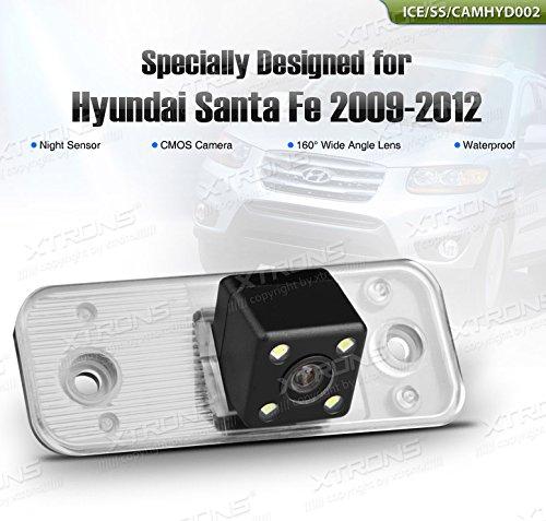 XTRONS de cámaras de vigilancia para aparcamiento de coche CMOS con Sensor de oscuridad para Hyundai Santa Fe 2009-2012: Amazon.es: Electrónica