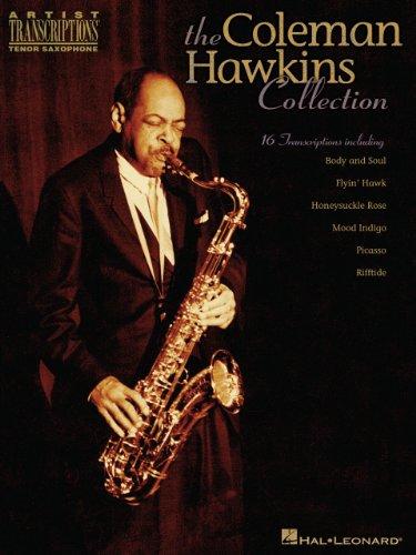 Sax Transcriptions - The Coleman Hawkins Collection Songbook: Artist Transcriptions - Tenor Sax
