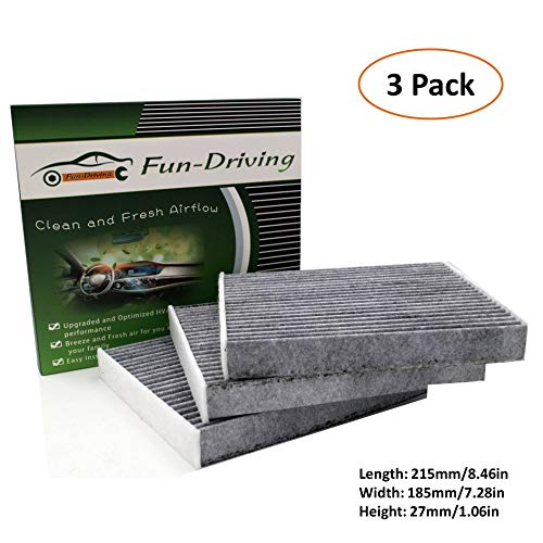 3 Pack Cabin Air Filter for LEXUS