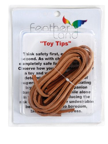 Paradise 1/4-Inch Leather Strip Bird Toy