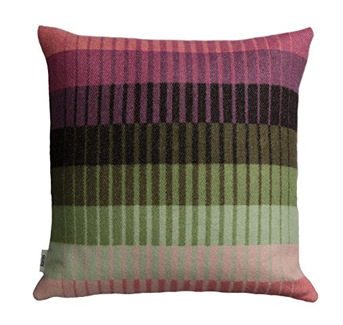 (Roros Tweed Designer 100% Norwegian Wool Pillow Cushion (Asmund Gradient in)