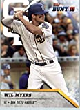 2016 Topps Bunt #14 Wil Myers San Diego Padres Baseball Card in Protective Screwdown Display Case