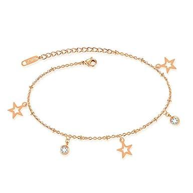 Phoenix B2C UK Ankle Bracelets Women Lady Pretty Ankle Chain Barefoot Sandal  Beach Foot Jewelry Toe Ring Sparkly Foot Jewelry fd9d3e0d9f06