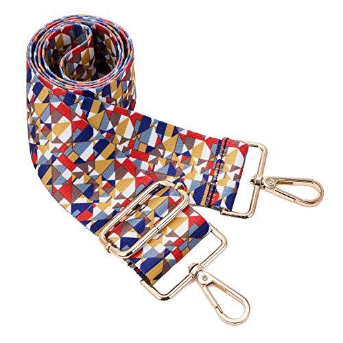 (Wide Shoulder Strap Adjustable Replacement Belt Crossbody Canvas Bag Handbag (wide:1.97