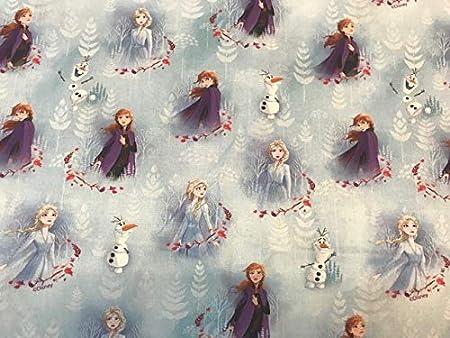 Textil Pertex Disney Frozen Tissus Reine Des Neiges 100 Popeline De Coton Amazon Fr Cuisine Maison