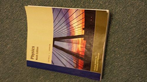 Physics 9e Wiley Custom Edition for University of Pittsburgh (Physics 9e Wiley Custom Learning Solutions Custom Edition for University of Pittsburgh)