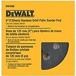 DEWALT DW4388 almohadilla de lijadora de palmas orbital aleatoria de 5 pulgadas, mediana (compatible con DW421K y DW423K)