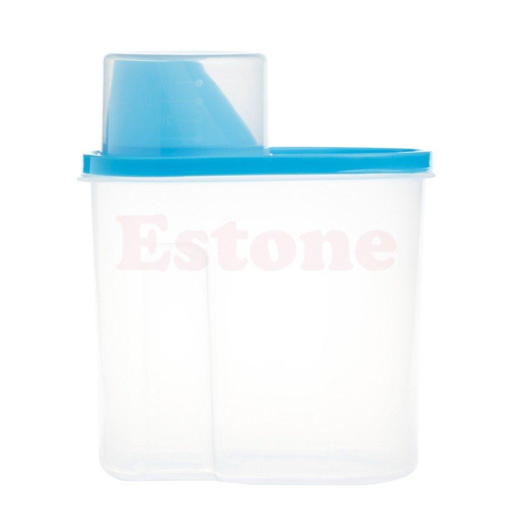Generic seca alimentos cereales Dispensador de harina para pasta de almacenamiento de alimentos contenedor de arroz caja sellada 2.5L: Amazon.es: Hogar