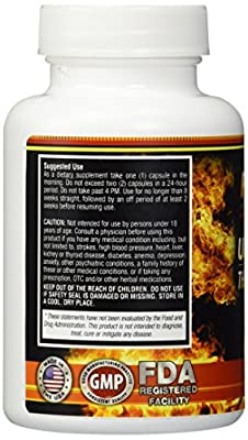 FUZE Thermogenic Fat Burner Weight Loss Metabolism Formula & Detox Diet Plan, 6 week Detoxifying Program Guaranteed To Ignite Your Metabolism And Burn Fat Fast!
