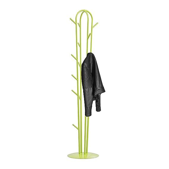Balvi - Arizona Perchero de pie en Forma de Cactus. 17 Ganchos. Altura: 180 cm. para Colgar Todo Tipo de Ropa: Abrigos, Chaquetas, Bufandas, Sombreros ...