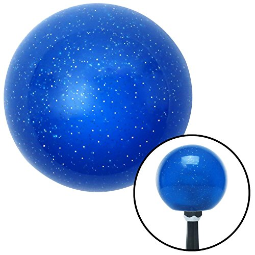 American Shifter 141243 Blue Metal Flake Shift Knob with 1/2-20 Insert