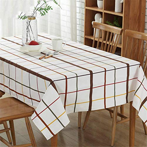 Cotton Linen Tablecloth Waterproof Table Home Decoration Halloween Tablecloths A 140x180cm -