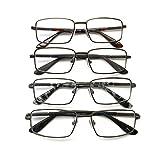 I.Image Men's Metal 4-Pack Reading Glasses, +1.75 (pack of 6)