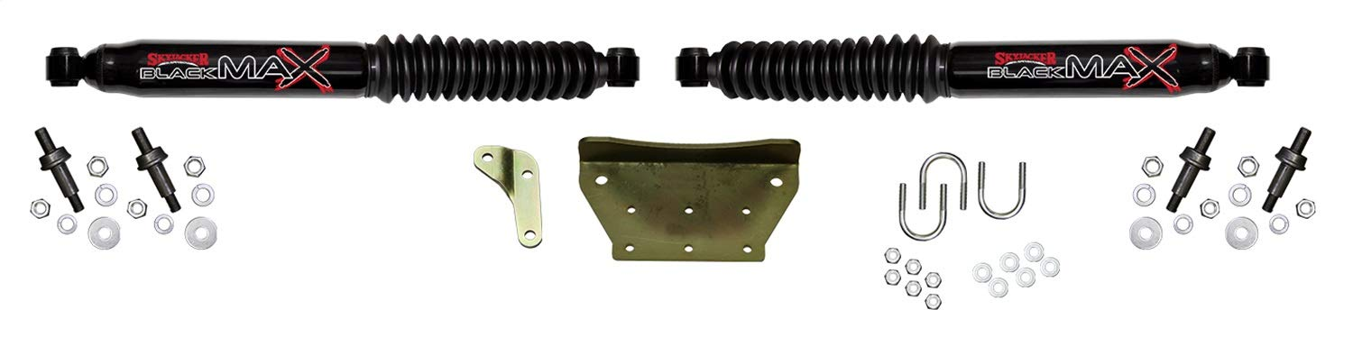 Skyjacker 8299 Dual Steering Stabilizer Kit (for Ford F-250/350 Super Duty and Excursion - Black)